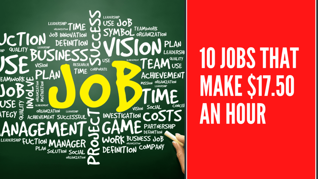 10 Jobs that make $17.50 an hour - $17.50 an hour is how much a year
