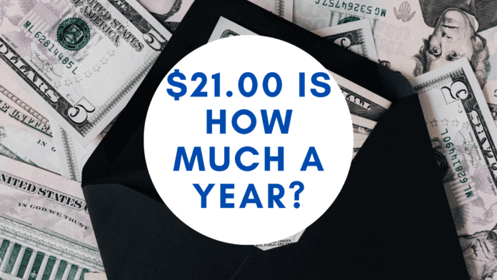 21.00 dollars an hour is how much a year _ hourly to yearly salary conversion